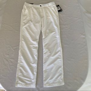Under Armour Mens Golf Pants Size 34/32 White